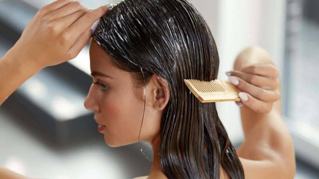 Самостоятельный уход за волосами