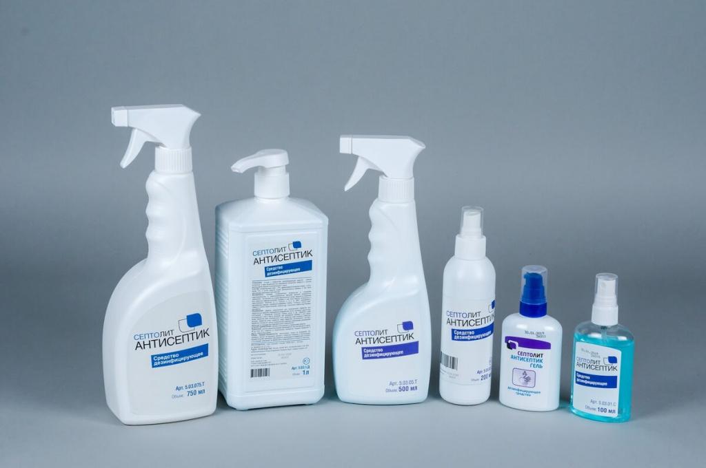 Средства для дезинфекции: виды, использование, требования